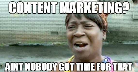 Therapy Content Marketing Meme