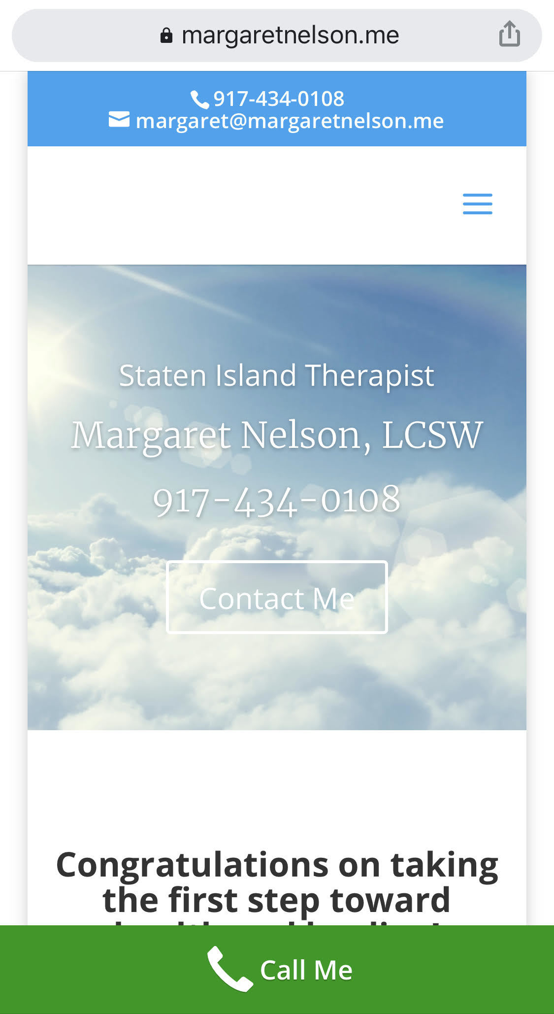 websites for therapists